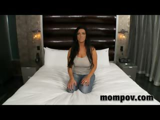 hot milf fucking young cock in hotel for cash