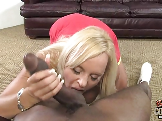 Mature mother Alexis Golden takes BBC at her old