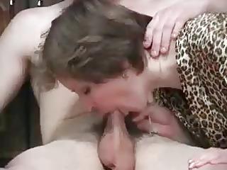 Nice milf suck young cock