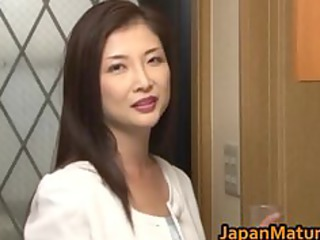 Chisa Kirishima Mature Asian lady shows part5