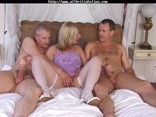 British Milf Josephine James In A Mmf Threesome