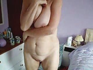 My busty mom fully nude selftape. Stolen video