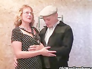 Gangbang in a renovated house