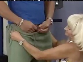 Crazy Old Mom Gets Fucked Hard In Her Pierced