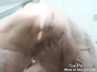 71 years old grandma squirting
