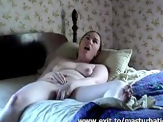 Solo with flashlight BBW Milf Susan