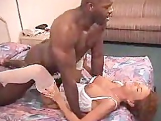 sexy milf babe gets her pussy drilled hard by
