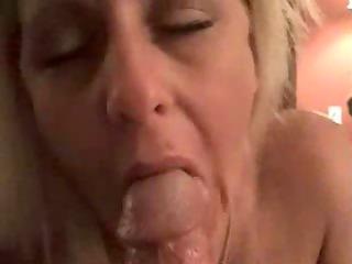 Nice mature blowjob