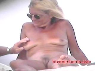 Nude Beach MILF s Teasing!