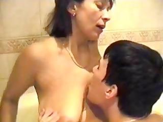 Amalia Fucks Sons Best Friend In The Bath