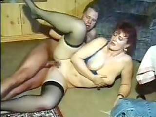 Chubby mature amateur fucked