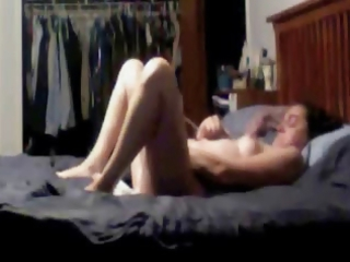 Masturbation of my mom cught by hidden cam