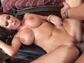 Big Boobed MILF Chicls in High Heels Get Hardcore