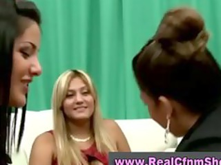 Cfnm amateur party girls blowjob