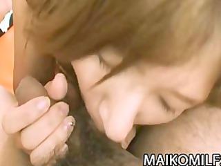 Hitomi Fujiwara - Horny Japanese Mom Fucked And
