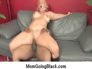 Interracial cougar porn from Watching My Mom Go