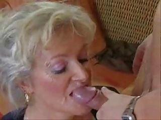 Mature Karola  that Look ( sloppy blow Job)