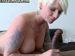 Gothic Mom Pounded By Black Dick