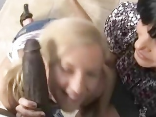 Mother and Daughter banged by a black guy