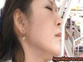 Ayane asakura asian milf has public sex part2