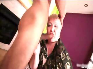 Big boobed busty MILF blonde slut Doctor part3