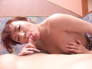 Horny skinny Japanese chick gets brutally fucked