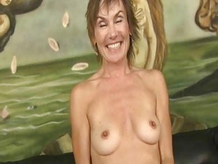MILF gets bashed by angry and rough gangbang cocks