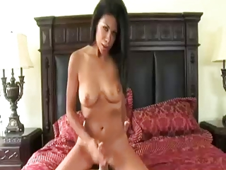 Horny Mom Giving A Handjob By TROC