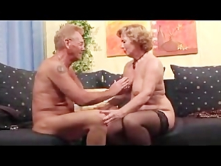 Mature couples love