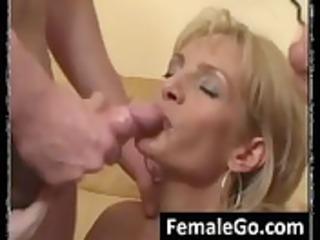 Mom sons fucking threesome