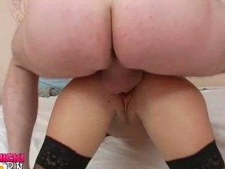 High heels stockings sex for hot wife