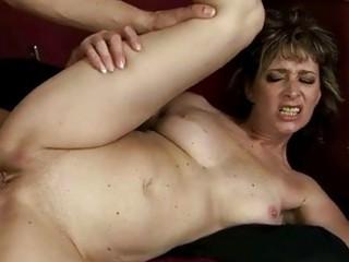 Naughty grandma enjoys hard fucking