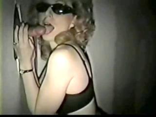 Mom in swingerclub. Hubby films.