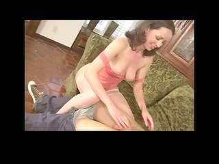 Hairy Milf Seduces a Horny Man by TROC