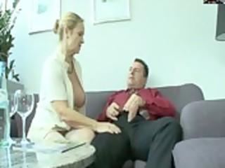 German mature pornstar - chubby Bea Dumas