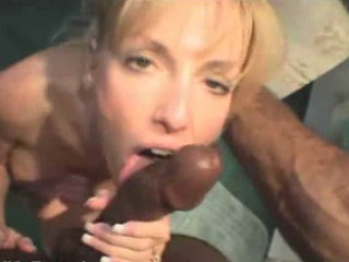 White Wife Gets Creampied