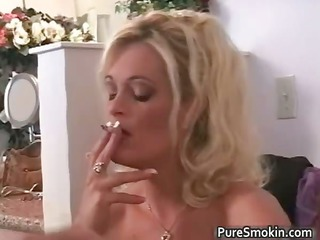 Busty big boobed MILF babe gets her part4