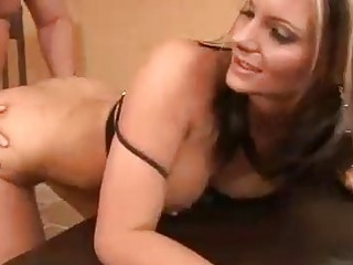Milf Phoenix Marie gets banged from behind and