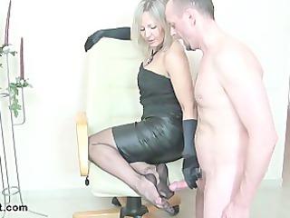 Nasty fucking handjob