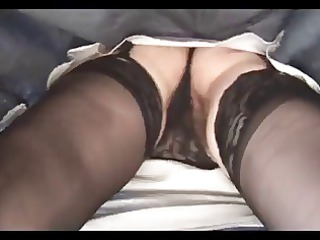 Hairy Busty Mature Does Striptease by TROC