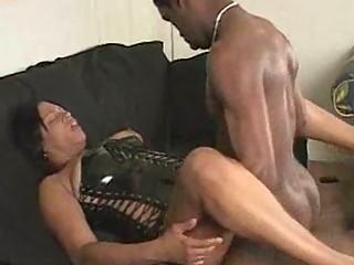 Black milf hardcore sex