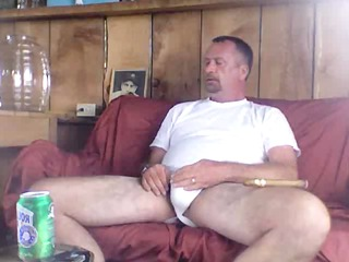 Dad smoking a well deserved cigar after fucking