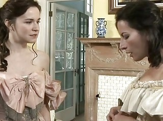 Old age lesbian Anna Pierceson and her MILF lover