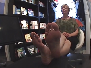 milf sexy feet