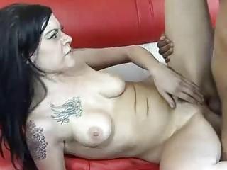 Tattooed MILF Wants Black Dick