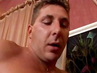 Mature French fucked by two guys