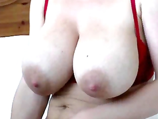 Mommy with Hairy Pussy and Toy