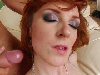 Facial on milf Erica