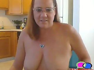 Granny Pierced Nipples