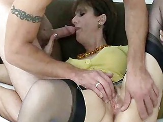 Mature Slut Snags Tattooed Badass Stud For A Fuck